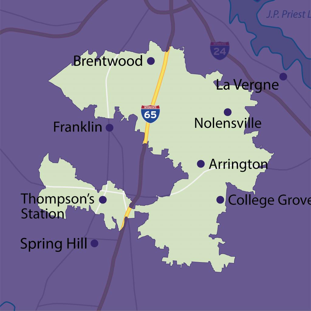 Franklin tutoring territory map