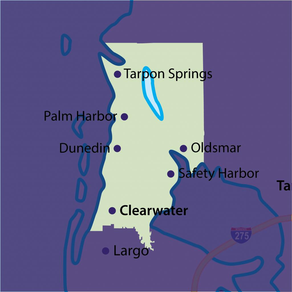 Oldsmar tutoring territory map