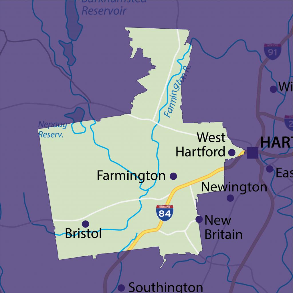 Farmington tutoring territory map